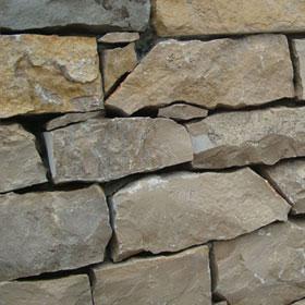 Rustic stone flooring
